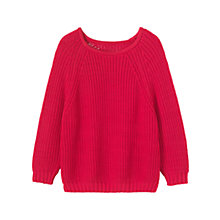 Buy Toast Bria Jumper, Bright Cerise Online at johnlewis.com