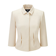 Buy Viyella Crepe Jacket, Cream Online at johnlewis.com