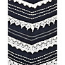 Buy Phase Eight Inez Chevron Lace Dress, Navy/Ivory Online at johnlewis.com