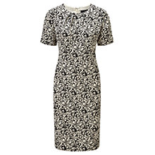 Buy Viyella Floral Print Dress, Black Online at johnlewis.com