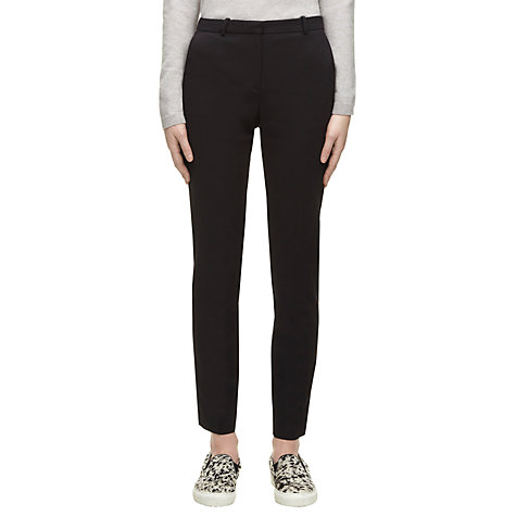 Buy Whistles Gaby Trousers, Longer Length Online at johnlewis.com