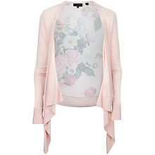 Buy Ted Baker Taci Nude Oil Painting Floral Wrap Top, Nude Pink Online at johnlewis.com