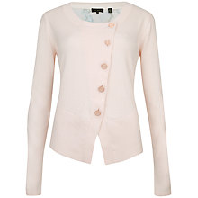 Buy Ted Baker Jenifur Nude Oil Painting Floral Cardigan, Nude Pink Online at johnlewis.com