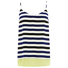 Buy Wishbone Charlie Silk Stripe Top, Multi Online at johnlewis.com