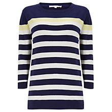 Buy Wishbone Eva Stripe Knit Top, Multi Online at johnlewis.com