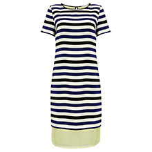 Buy Wishbone Sophie Stripe Dress, Multi Online at johnlewis.com