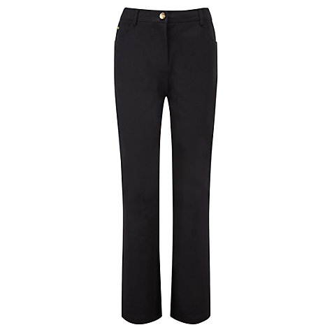 Buy Viyella Smart Jeans, Black Online at johnlewis.com