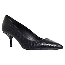 Buy Kurt Geiger Tiarella Leather Court Shoes Online at johnlewis.com