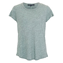 Buy French Connection Round Neck Tee Online at johnlewis.com