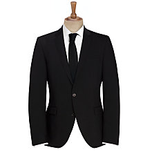 Buy Selected Homme Slim Fit Plainweave Suit Jacket, Black Online at johnlewis.com