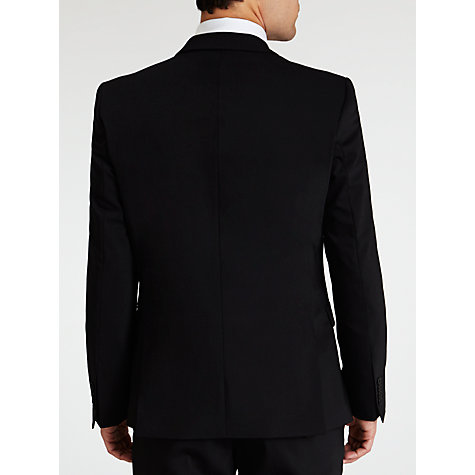 Buy Selected Homme Plainweave Suit Jacket, Black Online at johnlewis.com