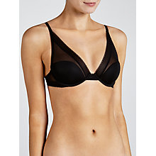 Buy Calvin Klein Icon Provocative Plunge Bra Online at johnlewis.com