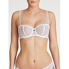 Buy COLLECTION by John Lewis Cecile Non Padded Underwired Balcony Bra Online at johnlewis.com