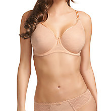 Buy Fantasie Echo Underwired Moulded Bra, Nude Online at johnlewis.com