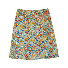 Buy Seasalt Sapling Skirt, Rons Roses Mist Online at johnlewis.com