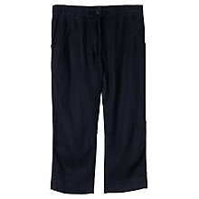 Buy Seasalt Cropped Harbour Trouser, Squid ink Online at johnlewis.com