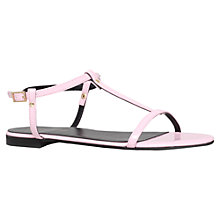 Buy KG by Kurt Geiger Match Sandals, Pink Online at johnlewis.com