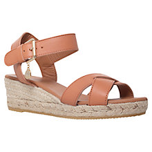 Buy Kurt Geiger Libby Sandals, Tan Online at johnlewis.com