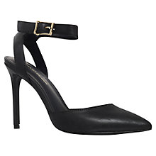 Buy KG by Kurt Geiger Brooklyn Leather Court Shoes Online at johnlewis.com