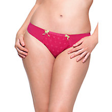 Buy Curvy Kate Dreamcatcher Thong, Rose Online at johnlewis.com