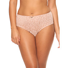Buy Curvy Kate Smoothie High Rise Briefs, Blush Online at johnlewis.com