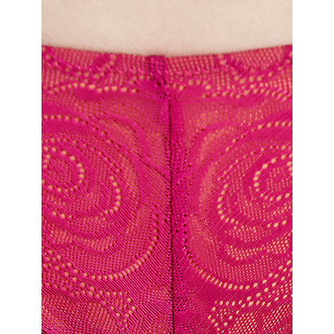 Buy DKNY Fusion Lace Hipster Briefs, Berry Twist / Clementine Online at johnlewis.com