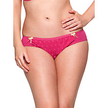 Buy Curvy Kate Dreamcatcher Briefs, Rose Online at johnlewis.com