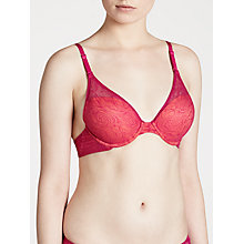 Buy DKNY Fusion Lace Convertible Bra, Berry Twist / Clementine Online at johnlewis.com