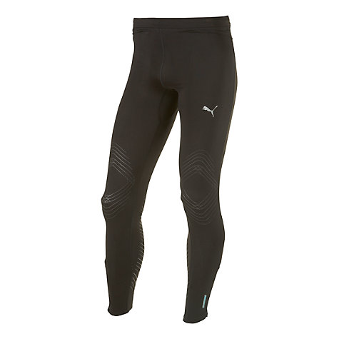 Buy Puma Pure ACTV Long Running Tights, Black Online at johnlewis.com