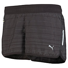 Buy Puma Pure NightCat Running Shorts, Black Online at johnlewis.com