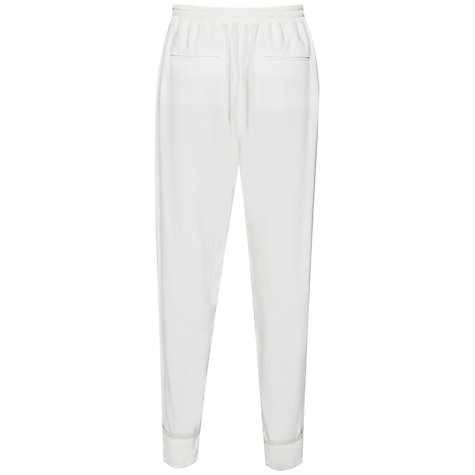 Buy French Connection Spring Tie Trousers, Winter White Online at johnlewis.com