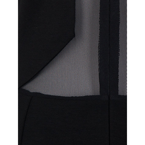 Buy French Connection Viven Panel Dress, Black Online at johnlewis.com