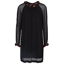 Buy French Connection Opal Brights Tunic, Black Online at johnlewis.com