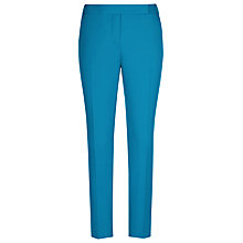 Buy Reiss Joanna Fitted Tailored Trousers, Turkish Blue Online at johnlewis.com