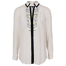 Buy French Connection Animal Shirt, Acid Zest Multi Online at johnlewis.com