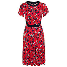Buy French Connection Printed Sahara Dress, Souk Sunrise Multi Online at johnlewis.com