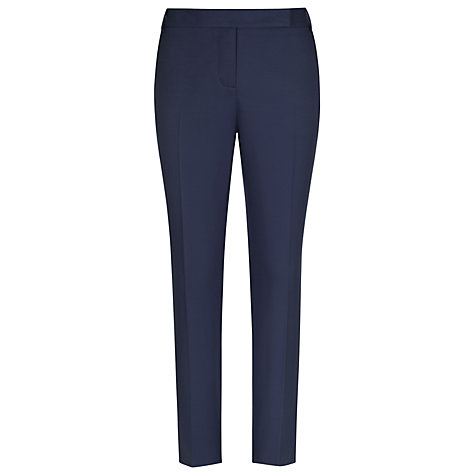 Buy Reiss Fitted Tailored Trouser, Navy Cosmos Online at johnlewis.com