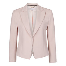 Buy French Connection Capri Cropped Jacket, Capri Blush Online at johnlewis.com