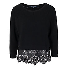 Buy French Connection Irene Jumper, Black Online at johnlewis.com