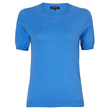 Buy Jaeger Cotton Knit T-Shirt Online at johnlewis.com