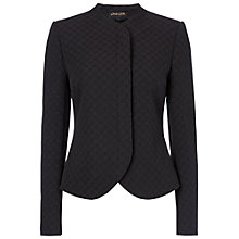 Buy Jaeger Matalasse Jacket, Black Online at johnlewis.com