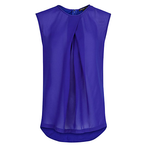 Buy Mango Contrast Chiffon Blouse Online at johnlewis.com