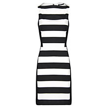 Buy Mango Stretched Bodycon Dress, Black Online at johnlewis.com
