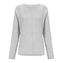 Buy Whistles Dolman Sleeve Jumper, Pale Grey Online at johnlewis.com