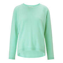 Buy Whistles Rose Cashmere Jumper, Pale Green Online at johnlewis.com