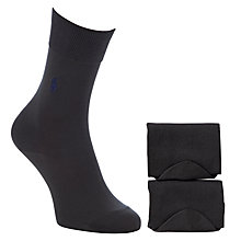 Buy Polo Ralph Lauren Merc Cotton Socks, Pack of 2 Online at johnlewis.com