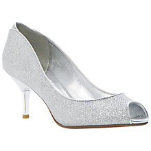 Buy Dune Decra Court Shoe, Silver Online at johnlewis.com