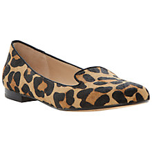 Buy Dune Limbo Pony Print Loafers, Leopard Online at johnlewis.com