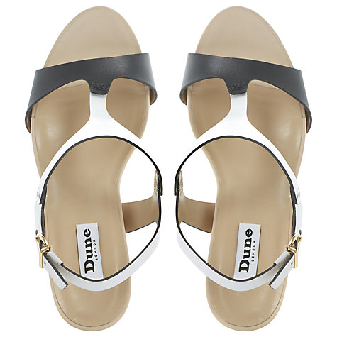 Buy Dune Giselle Leather Wedge Sandal Online at johnlewis.com