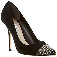Buy Dune Alesha Leather Court Shoes Online at johnlewis.com